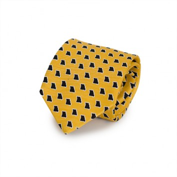 Gold MO Gameday Tie